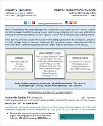 30+ Simple Marketing Resume Templates - Pdf, Doc | Free & Premium ...