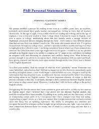 Personal Statement Grad School Samples Phd Personal Statement Samples Before After Edit Review