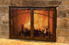 splendorous wood fireplace glass door gas fireplace glass for best fireplace screens with glass doors