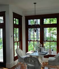 The Stained Wood Trim Stays What Colors Will Work With It Wood - Dining room paint colors dark wood trim