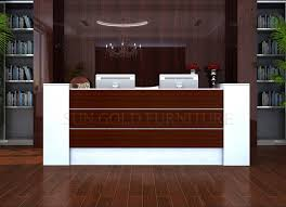 modern office counter table front desk counter reception desk design sz rtb020
