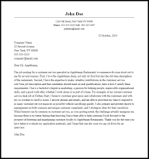 Leading Customer Service Cover Letter Examples   Resources    MyPerfectCoverLetter