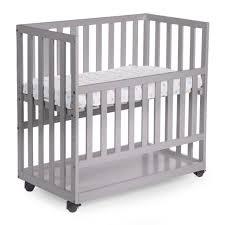 Childwood Baby Beistellbett 50x90 Cm Buche Grau Bscnsg Vidaxlde