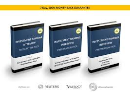 investment banking interview preparation pack comprehensive streamlined preparation to ib interviews