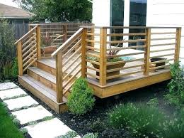 Backyard Deck Designs Plans Impressive Design