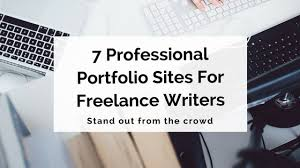 professional portfolio sites for lance writers writer s edit thanks to the boom in creative lancing over recent years you re able to choose from an abundance of specialised sites to host your writing portfolio