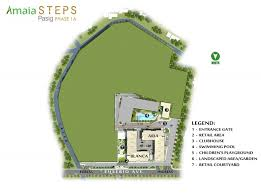 amaia steps pasig phase 1a site development plan