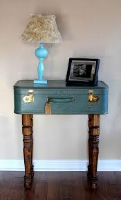 Suitcase Nightstand upcycled vintage suitcase side table diy projects for everyone 1140 by guidejewelry.us