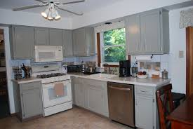 Mixing Kitchen Cabinet Colors Gray Kitchen Cabinets Brass Hardware Quicuacom