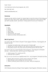 Volunteer Resume Simple Professional Hospital Volunteer Templates To Showcase Your Talent