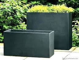 square outdoor planters large tall large square planters outdoor uk