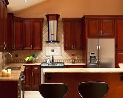 Cherry Wood Kitchen Cabinets Kitchen Colors With Dark Wood Cabinets