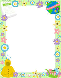 Small Picture Free Page Borders and Frames