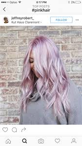 Pink Pearl Blonde - Metallic Hair Shades With Just the Right Amount of Edge  For Fall - Photos