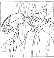 Small Picture Disney Movie Princesses Maleficent Free Printable Coloring Pages