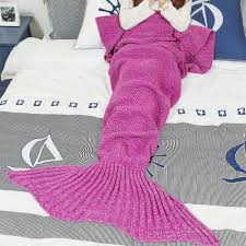 Knitted Mermaid Tail Blanket Pattern Free