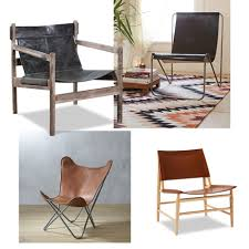 modern leather chairs with serious style  valet