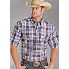 Cornellu0027s Country Store Panhandle Slim Rough Stock Canon Ombre Country Style Shirts