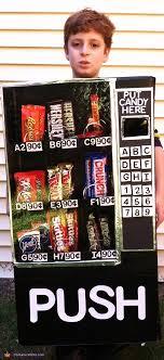 Vending Machine Costume Classy Vending Machine Halloween Costume