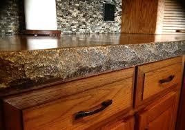 concrete countertop edge form standard split stone