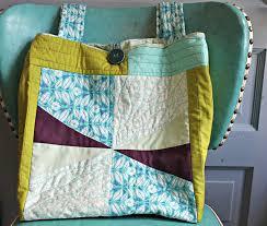 Maureen Cracknell Handmade: A Quilt-as-you-go Tote : : & A Quilt-as-you-go Tote : : Adamdwight.com