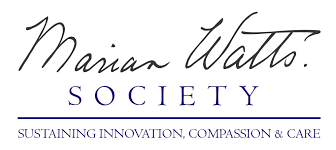 marian watts logo with tag line