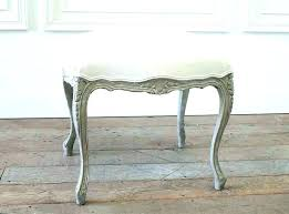 antique vanity stool upholstered bench and benches marvellous vintage table with mirror french antique vanity stool