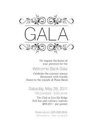 Gala Dinner Invitation Wording Event Invitation Invitation Dinner