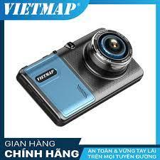 Camera hành Trình Ô Tô ( Ghi Hình Trước + Sau và Tích Hợp Dẫn Đường GPS)  VIETMAP A50 - Tặng thẻ nhớ 32G - Hàng chính hãng