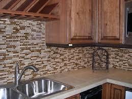 glass tile kitchen backsplash design