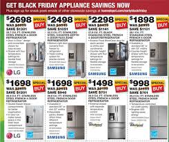 refrigerator at home depot. home depot is offering generous discounts on refrigerators (photo credit: ad screenshot refrigerator at i