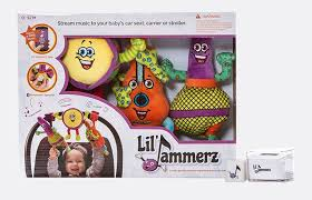 Little Jammerz Plush Bluetooth Music Set -- gifts for 1-year-olds 12 Best 1-Year-Old Baby Gift Ideas | Fatherly