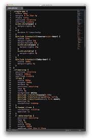 light code on dark background