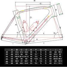 Aero Road Bike Frame Frame Size Number Vs Actual Frame