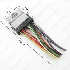 aliexpress com buy 20pcs car radio cd player wiring harness aliexpress com buy 20pcs car radio cd player wiring harness audio stereo wire adapter for toyota hyundai kia oldsmobile ct2954 from reliable harness