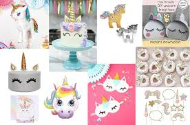 Diy Party Printables The Ultimate List Of Unicorn Themed Party Ideas Mums Make