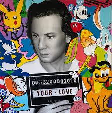 Your Love portrait painting - Montana Engels