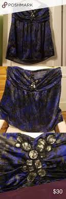 Torrid Strapless Blouse Strapless Blouse Could Be A Mini