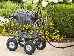 best garden hose reel cart carting the