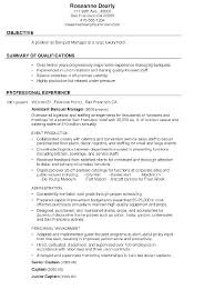 Concierge Resume Objective Receptionist Resume Examples Residential