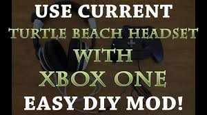how to use current turtle beach headset xbox one diy how to use current turtle beach headset xbox one diy adapter must see