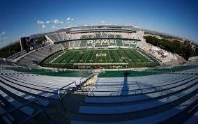 Csu Canvas Stadium Seating Chart Colorado State Football Field Renamed Canvas Stadium