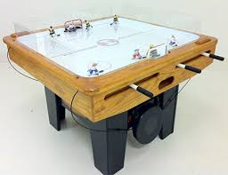 table hockey. hardwood sniper table hockey