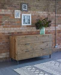industrial style bedroom furniture. baxter round 4 drawer chest warehouse industrial style bedroom furniture from lombok d