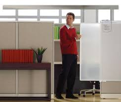office cube door. Lightweight And Durable, A Partial-length Cubicle Privacy Screen Lets Co-workers Know You Are Not To Be Disturbed. Easily Slides Into Place; Office Cube Door F