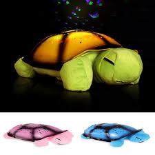 baby turtle star light sky lamp projector night plush bedroom lamp turtle night