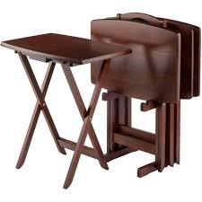 tv tray tables pub table set ce e d a aa large size