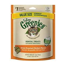 Greenies Size Chart Greenies For Cats Chicken Flavor Larger 5 5 Oz