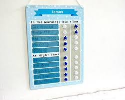 Childrens Star Reward Chart