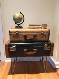 Best 25+ Vintage suitcase table ideas on Pinterest | Vintage suitcases, Vintage  suitcase decor and Suitcase table